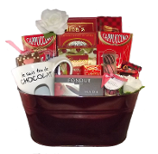 Crazy About Chocolate Gift Basket Canada