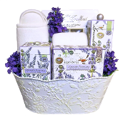 Lavender Rosemary Luxury Spa Gift Basket