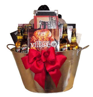 BBQ Gift Basket with Beer