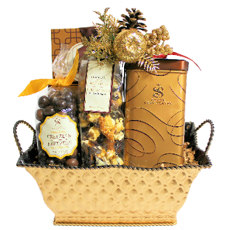 Saxon Signature Chocolate Christmas Gift Basket