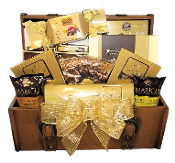 Chocolate Lover Trunk Gift Basket by Thoughtful Expressions Gift Baskets in Fort St. John, BC