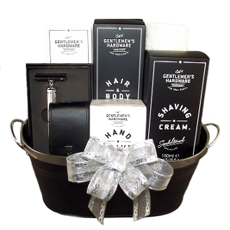 Men's Shaving Gift Basket by Thoughtful Expressions