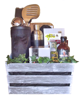 Golf Themed BBQ Gift Basket Canada