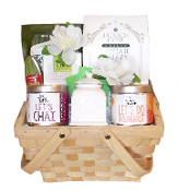 For Tea's Sake Premium Tea Gift Basket.