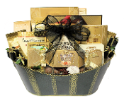 Classic Favourites Gourmet Gift Basket for personal or corporate gifts.
