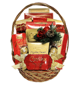 festive snacks christmas gift basket by thoughtful expressions gift baskets canada