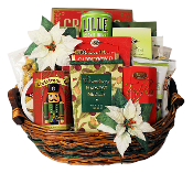 Gifts of the Season Gourmet Christmas Gift Basket by Thoughtful Expressions