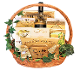 Wine and Cheese Gourmet Gift Basket by Thoughtful Expressions Gift Baskets Canada