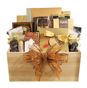 Chocolate gift basket Canada online.