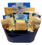 Classic Favourites Gourmet Holiday Basket by Thoughtful Expressions Canada