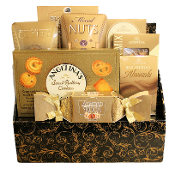 All occasion gift basket with assorted snacks with Canada wide shipping.
