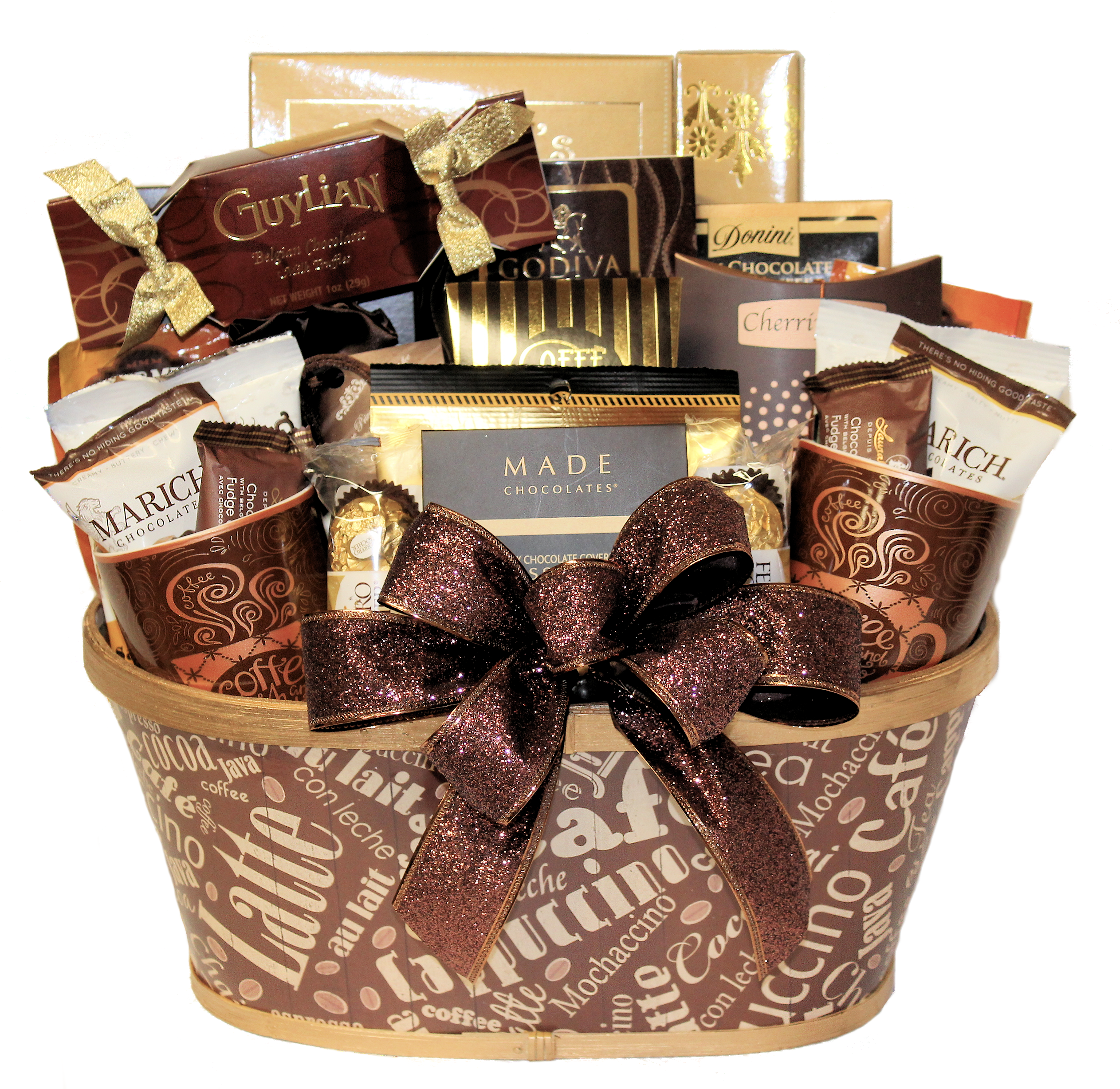 Coffee Lover Gourmet Gift Basket
